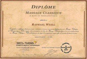 DiplomeMassageRaphaëlWeill
