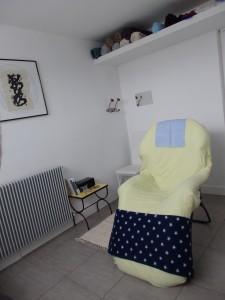 Le fauteuil relax pour la réflexologie plantaire